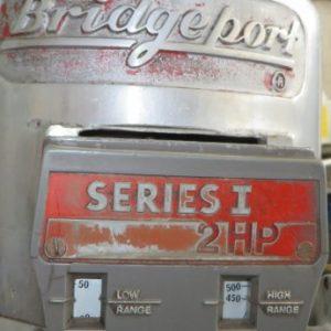 Series 1 2hp Bridgeport