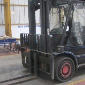 Linde H60D forklift truck