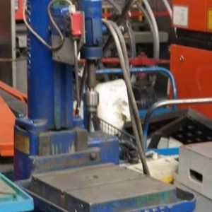 Geared pillar drill Herbert