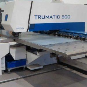 Used Trumpf Trumatic TC 500R CNC Punch