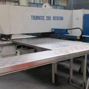 Used Trumpf Trumatic 260r large format CNC punch press
