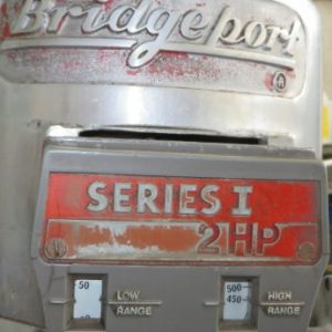 Series 1 2hp Bridgeport