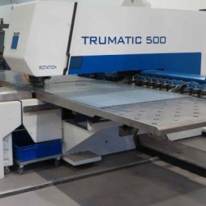 Used Trumpf Trumatic TC 500R CNC Punch