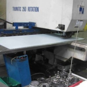 Used Trumpt Trumatic 260r CNC Punch