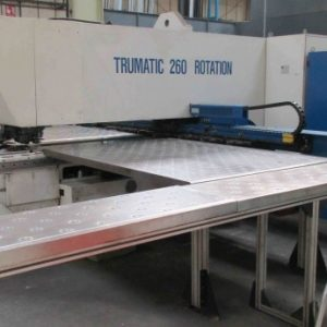 Used Trumpf Trumatic 260r large format CNC punch press