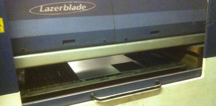 Used Lazerblade Profile 600 Cnc Laser