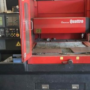 Used Amada Quattro CNC Laser
