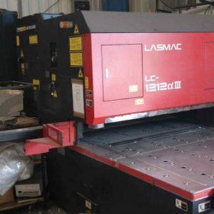Used Amada LASMAC LC-1212 AIII CNC Laser