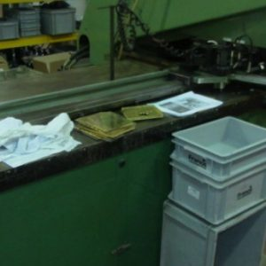 Used Pierce All 3025a 72/54 Punch Press