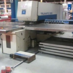 Used Trumpf Trumatic 500R Punch Press