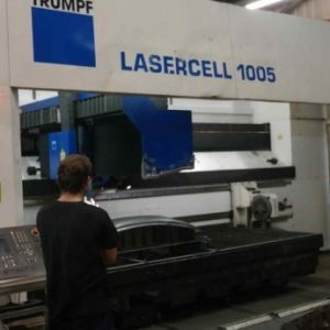 Trumpf Tcl Lasercell 1005