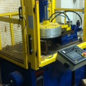 Used Lucas VBU 400 Flanging Machine
