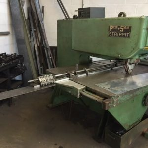 Strippit single station non cnc punch press