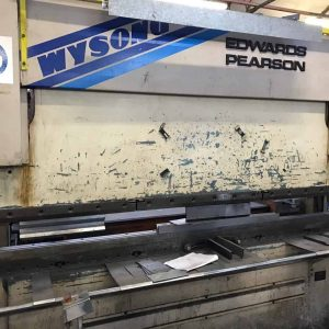 Edwards Pearson Rt4 Sheet Metal CNC Press Brak