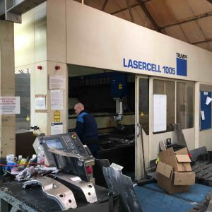 Used Trumpf 5 axis CNC laser TLC 1005
