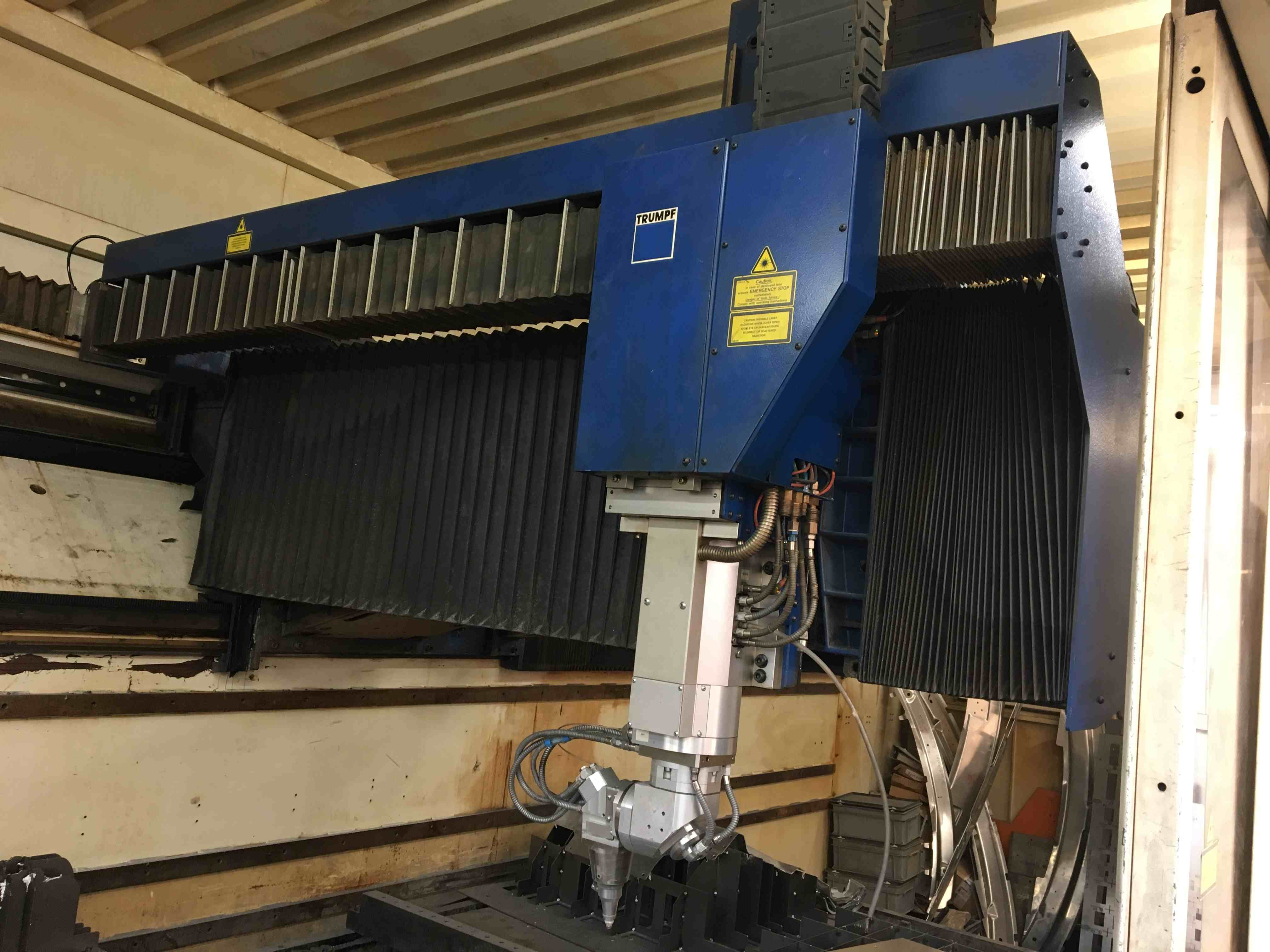 Used Trumpf 5 Axis Cnc Laser Tlc 1005 Sheet Metal