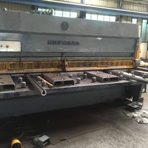 Used Ursviken GSA1640 Hydraulic shear / guillotine