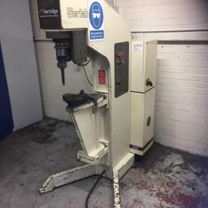 Used Leslie Hartridge Sertabush 500 Riveting Machine