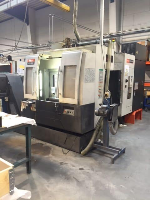Mazak Pfh 4800 Machine Cnc Machining Centre