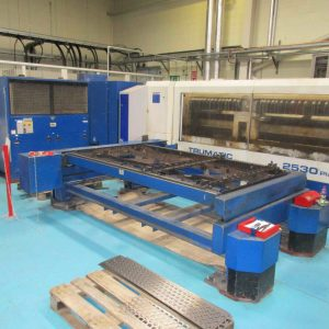 Used Trumpf Trumatic L2530 Plus 2700 watt laser