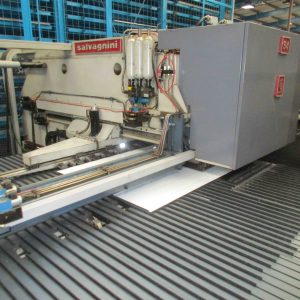Used Salvagnini S4 cnc punch press