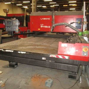 LASMAC LC2415 A II 1.5 KW laser cutting machine
