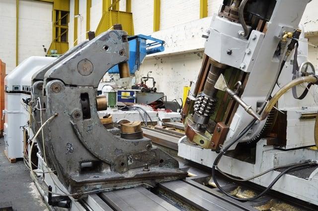 Schiess Rfw10s Horizontal Pinion Hobbing Machine