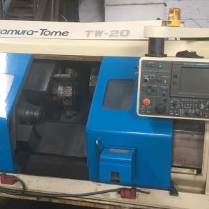 Used NAKAMURA-TOME TW-20MM CNC Lathe