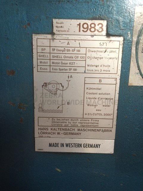 Used Kaltenbach Kks 400 Steel Cutting Saw For Sale