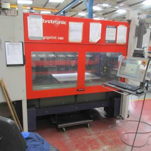 Used Modern Bystronic Bysprint 3kw 3015 CNC laser