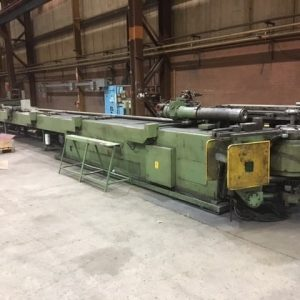 Used Schwarze Wirtz We 80 CNC tube bender for sale