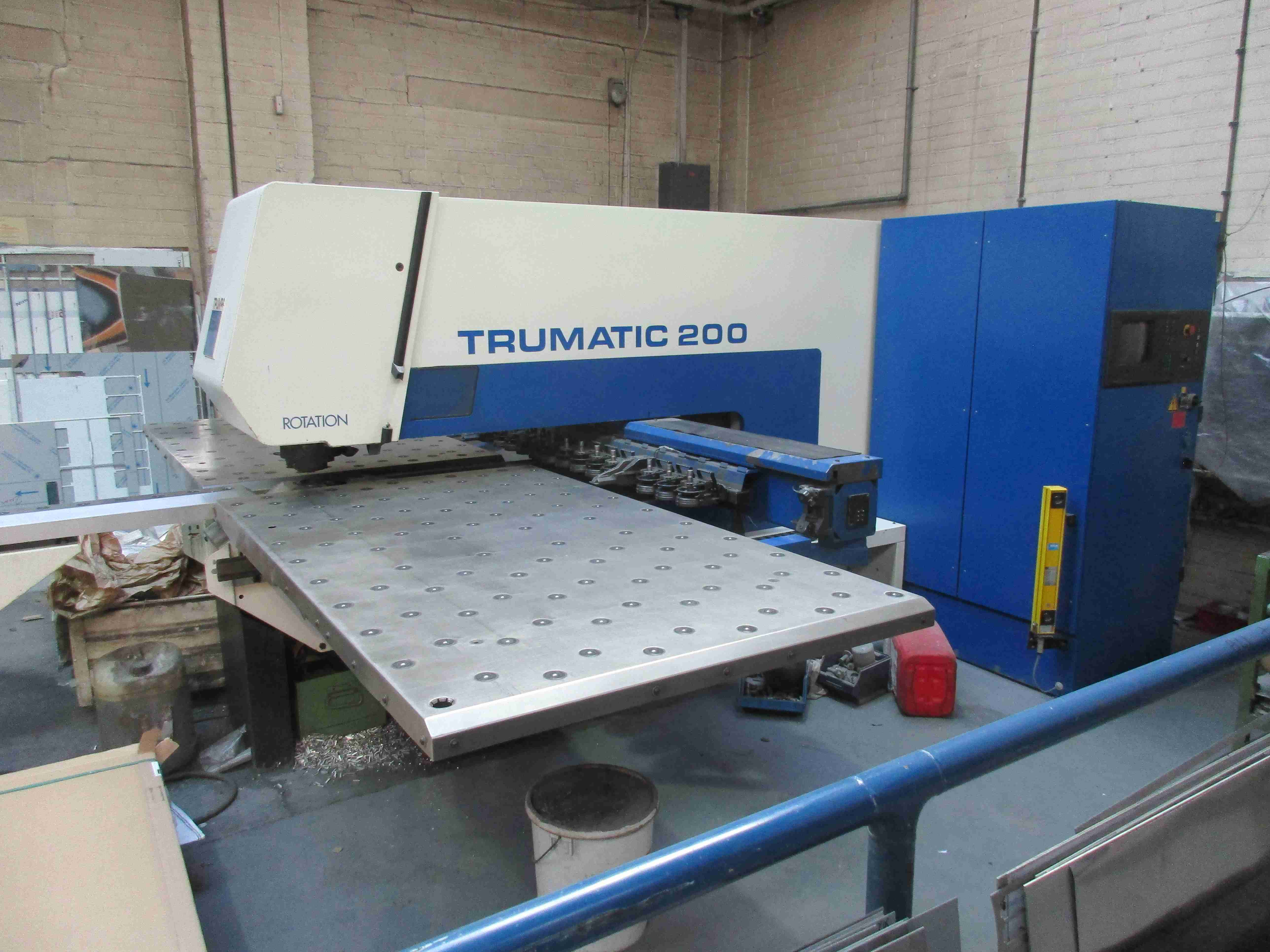 Used Trumpf Trumatic 200r Cnc Punch Press For Sale