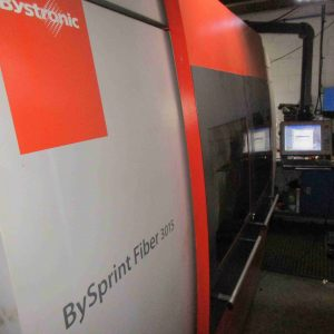Used Bystronic Bysprint 3015 4kw fiber cnc Laser for sale