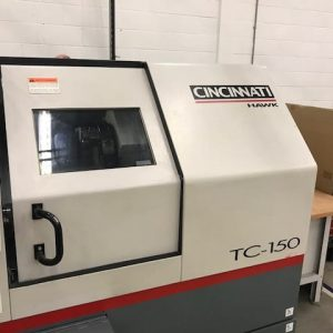 Used Cincinnati Hawk TC150 CNC Lathe for sale (2001)