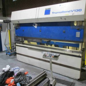 Used 1999 Press brake for sale Trumpf TrumaBend V130
