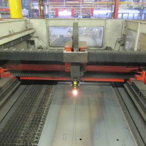 Used Bystronic Bysprint CNC sheet metal laser cutting machine for sale