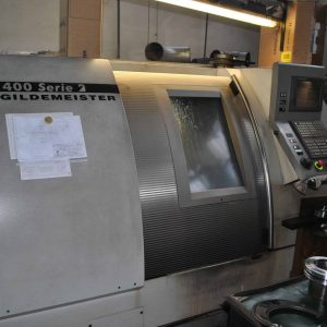 Used DMG Gildermeister CTX – 400 S2 with heidenhein CNC lathe for sale