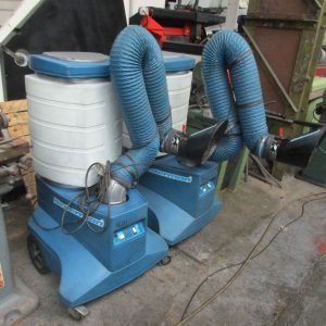 Used portable welding extractrion unit for sale