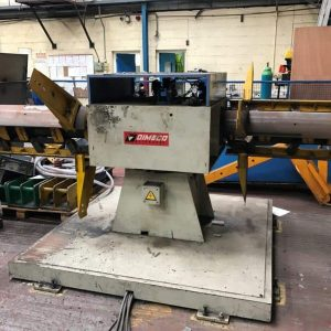 Used DIMECO Ali Presse cut to length forming line for sale