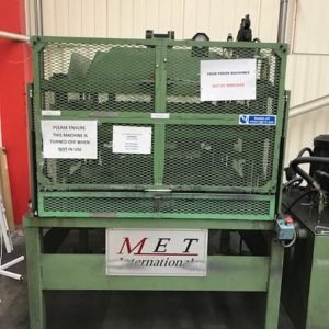 Used Met International 40ton Hydraulic press
