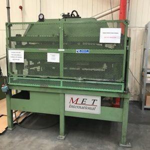 Used Met International 60ton Hydraulic press