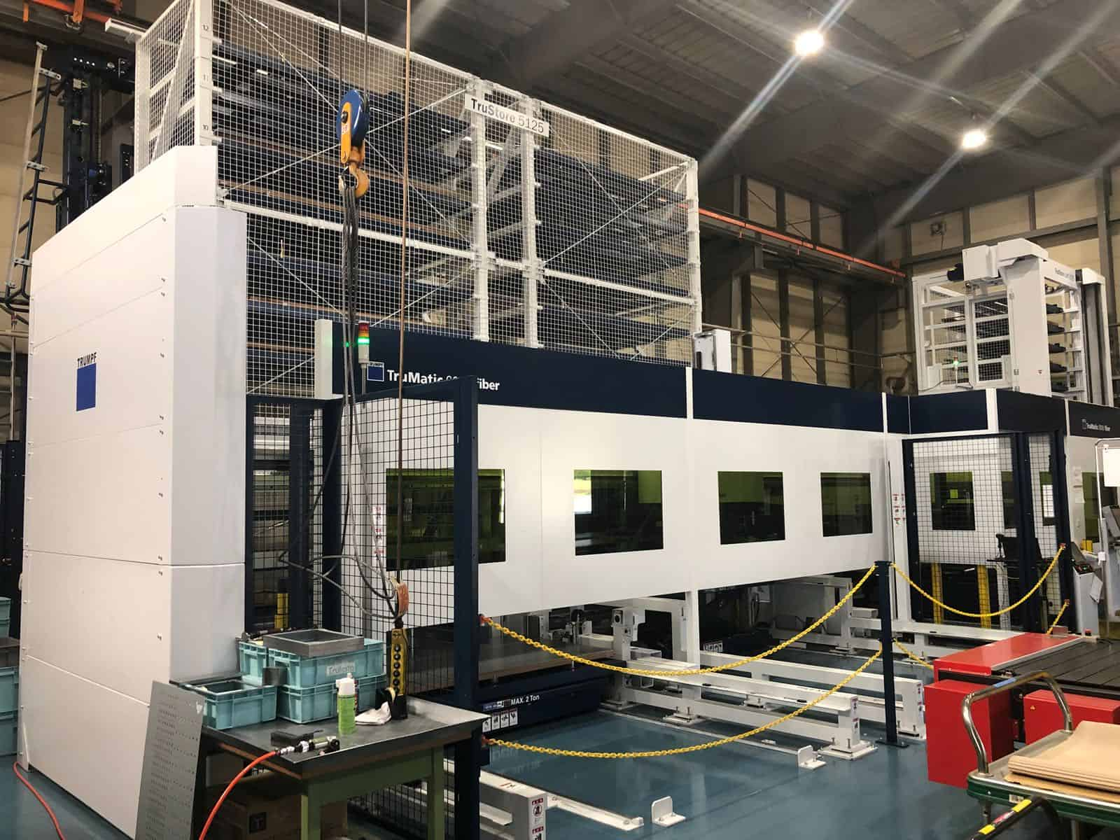 Trumpf Trumatic 6000 Laser Punch Combo Machine For Sale