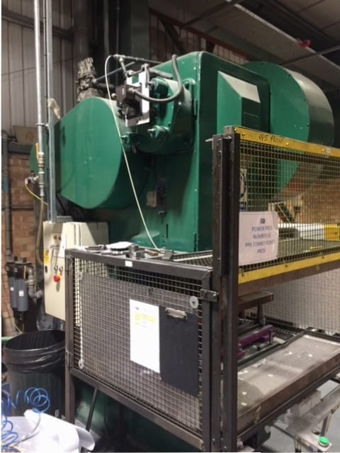 Used mechanical power press for sale