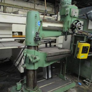 Used RICHMOND SR2 RADIAL DRILL for sale / Heavy duty engineering