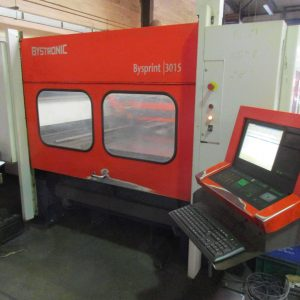 Used Bystronic Bysprint 3kw 3015 CNC laser for sale