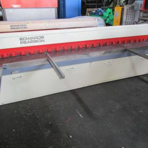 Used Edwards Pearson mechanical guillotine / shear for sale