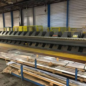 Used Jorns 10000mm / 12 metre x 3mm powered folder for sale