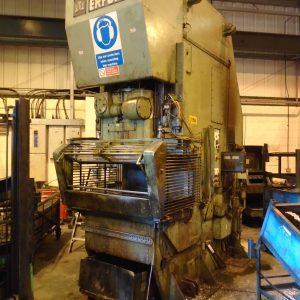 Used Erfurt C Frame Mechanical Press 400 Ton