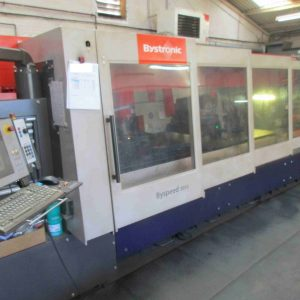Used 4.4kw Bystronic Byspeed CNC laser for sale