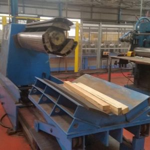 Used sheet metal cut to length line for sale